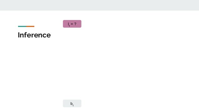 Inference b1 l1 = ?