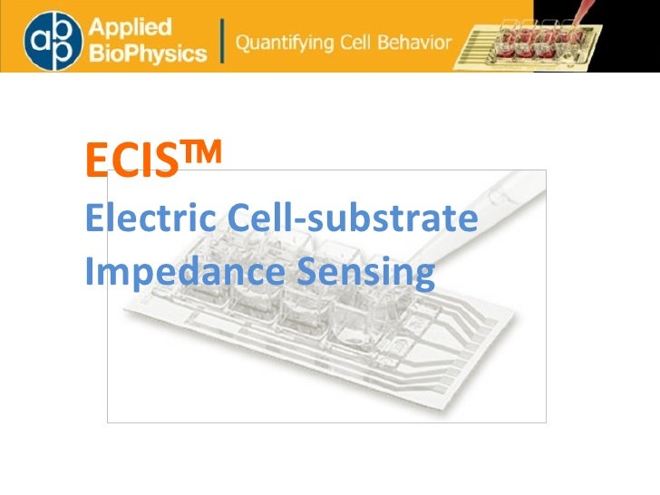 ECIS  Electric Cell-substrate Impedance Sensing