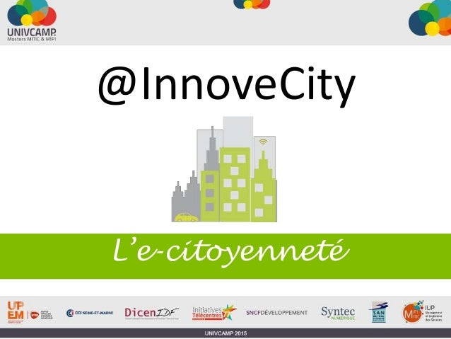 @InnoveCity L'e-citoyenneté