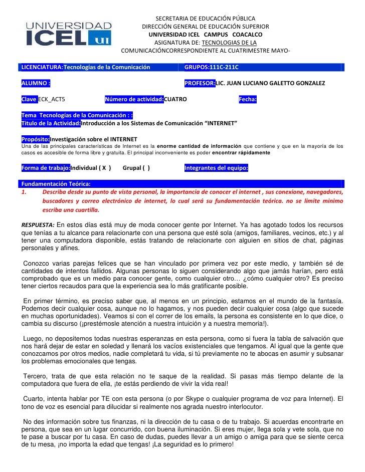 SECRETARIA DE EDUCACIÓN PÚBLICA                                         DIRECCIÓN GENERAL DE EDUCACIÓN SUPERIOR           ...