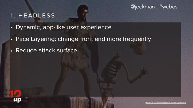 But Why? Use Cases for the REST API Slide 3