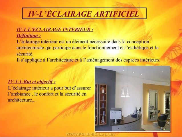 Eclairage lumiere l 39 architecture for Conception architecturale definition