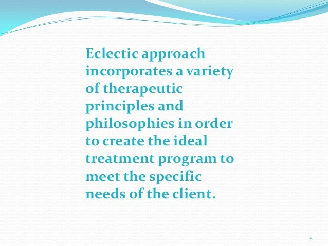 eclectic theory psychology