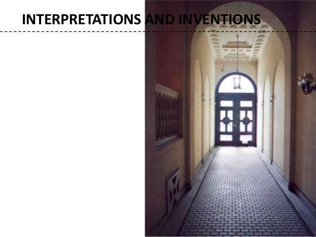 Eclecticism, origin, principles and applications