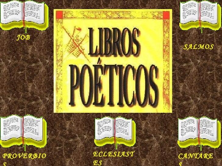 JOB SALMOS CANTARES ECLESIASTES PROVERBIOS