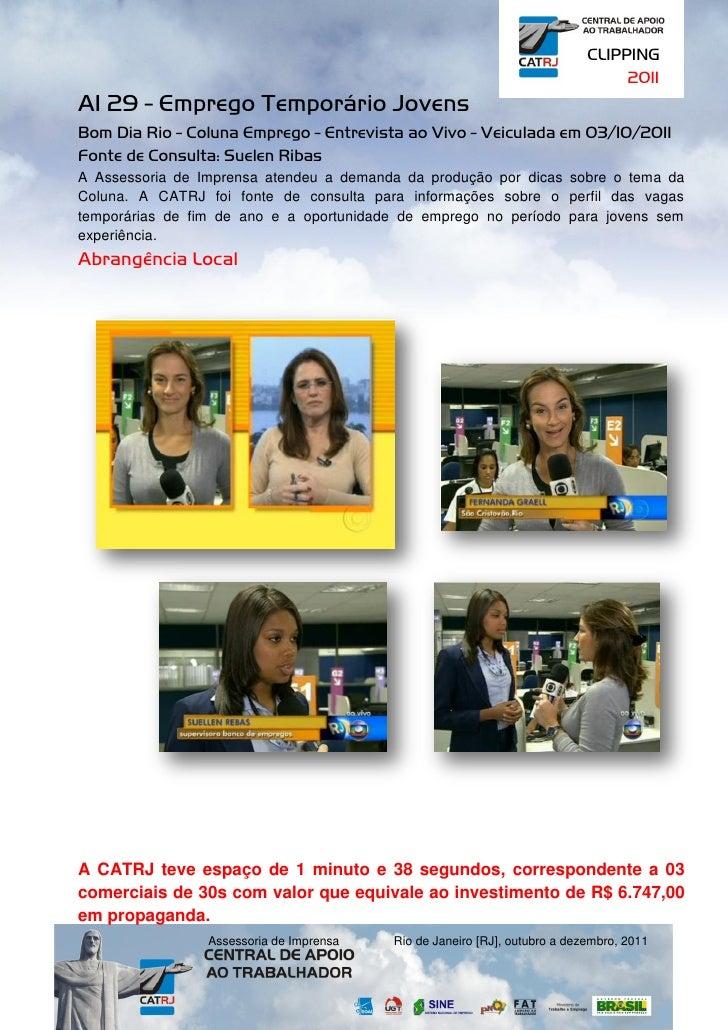 CLIPPING                                                                                 2011AI 29 - Emprego Temporário Jo...