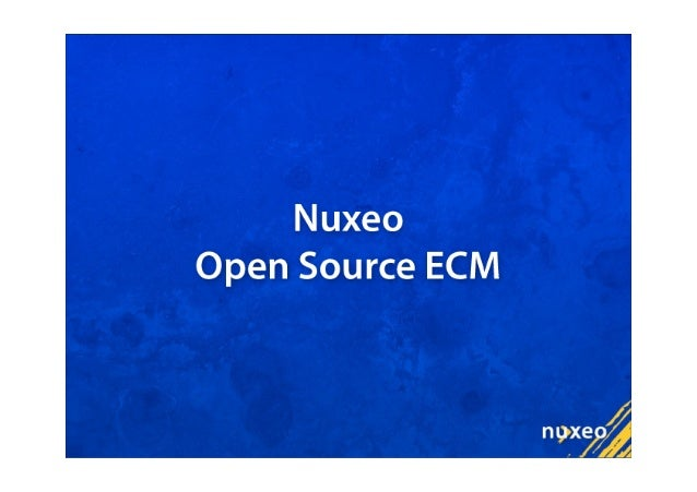 Eclipse Apogee and Nuxeo RCP Slide 3