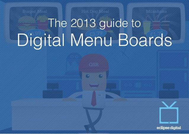 digital menu boards guide 2013 by eclipse digital media rh slideshare net Eclipse 2012 Eclipse 2012