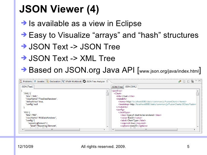 JSON Viewer XPATH Workbook