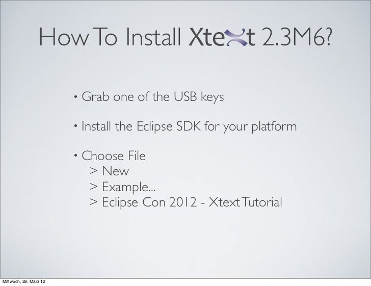 How To Install                               2.3M6?                        • Grab      one of the USB keys                ...