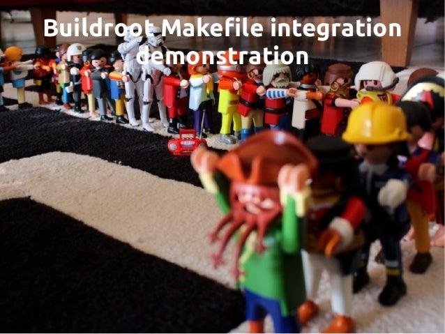 Buildroot Makefile integration demonstration