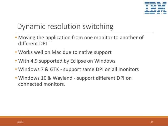 Scaling Eclipse on HiDPI Monitors - Niraj Modi