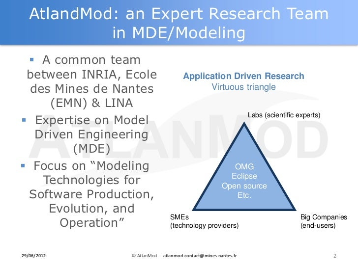 Eclipse Labs for Improving DSL Development - Eclipse DemoCamp Juno 2012 in Nantes Slide 2