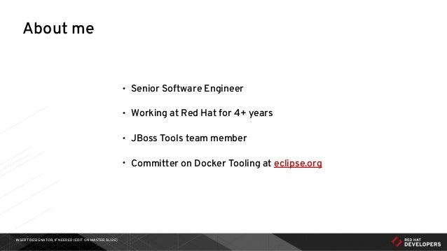 Eclipse Neon Webinar - Docker Tooling for Developers Slide 2