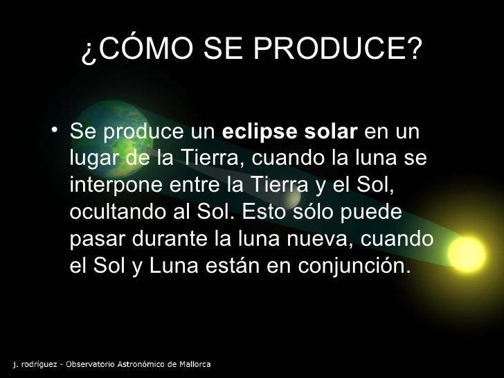 Eclipse solar for Cuando es luna nueva