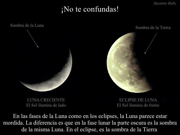 En las fases de la for Cuando es luna nueva
