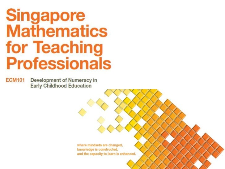 This course focuses on the WHAT and HOW of numeracyprogrammes in early childhood education. You will complete fourmodules ...