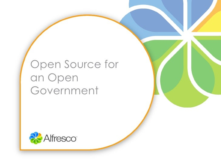 Open Source foran OpenGovernment