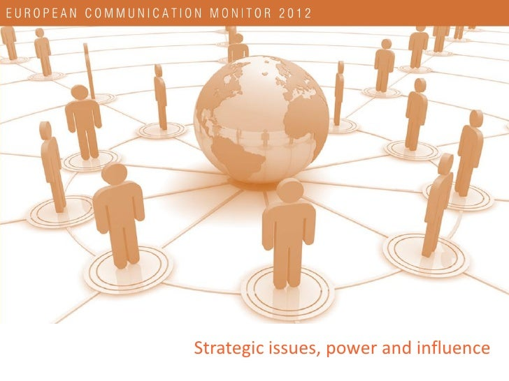 Most important strategic issues for communication management until 2015                    Coping with the digital evoluti...