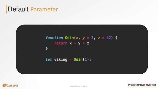 www.fcamara.com.br Default Parameter