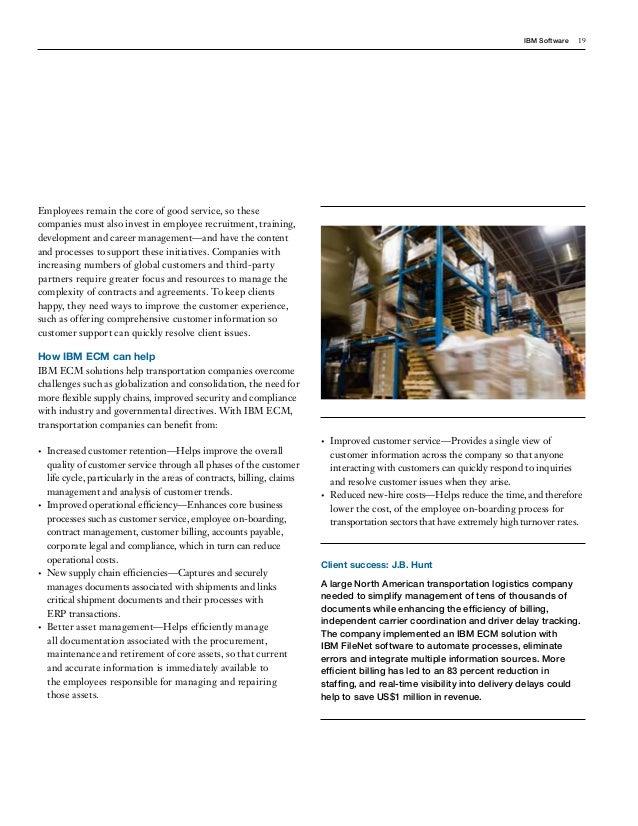 IBM Enterprise Content Management Solutions -Making your