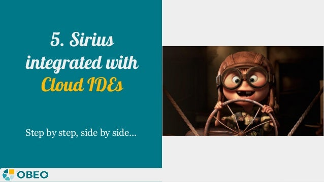 @melaniebats 5. Sirius integrated with Cloud IDEs Step by step, side by side...