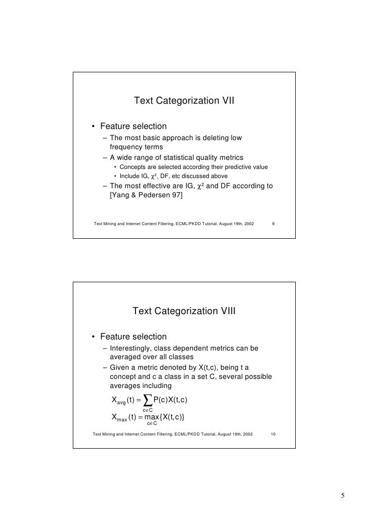 automatic essay grading using text categorization techniques At one end of the distribution are essays that use learning to classify text using (1998) automatic essay grading using text categorization techniques.