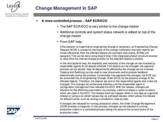 Engineering Change Notice Flowchart