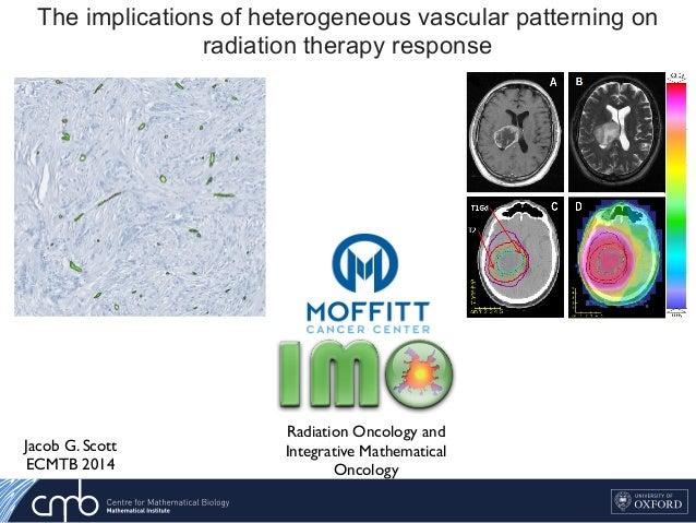 The implications of heterogeneous vascular patterning on radiation therapy response Jacob G. Scott ECMTB 2014 Key Factor C...