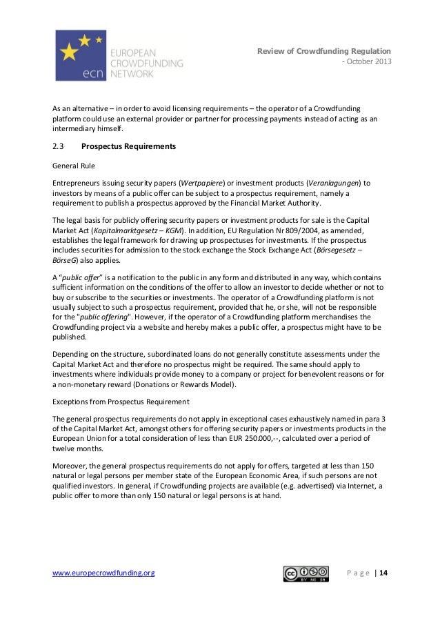 European crowdfunding network review of crowdfunding regulation 15 spiritdancerdesigns Gallery