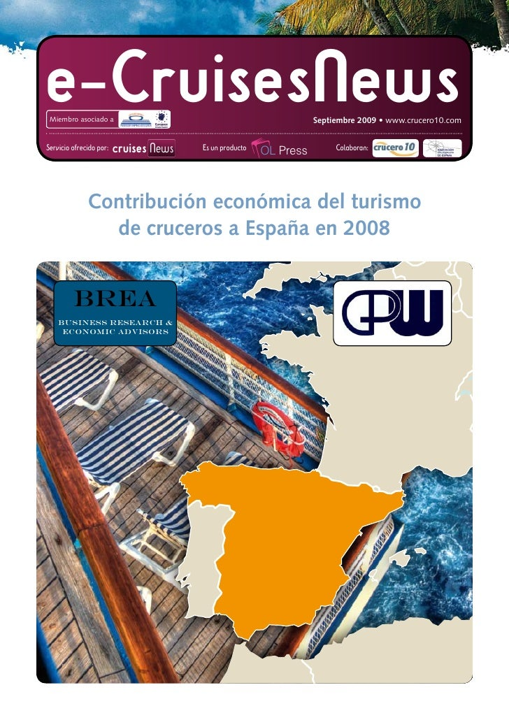 e-CruisesNews    Miembro asociado a                                                                        Septiembre 2009...