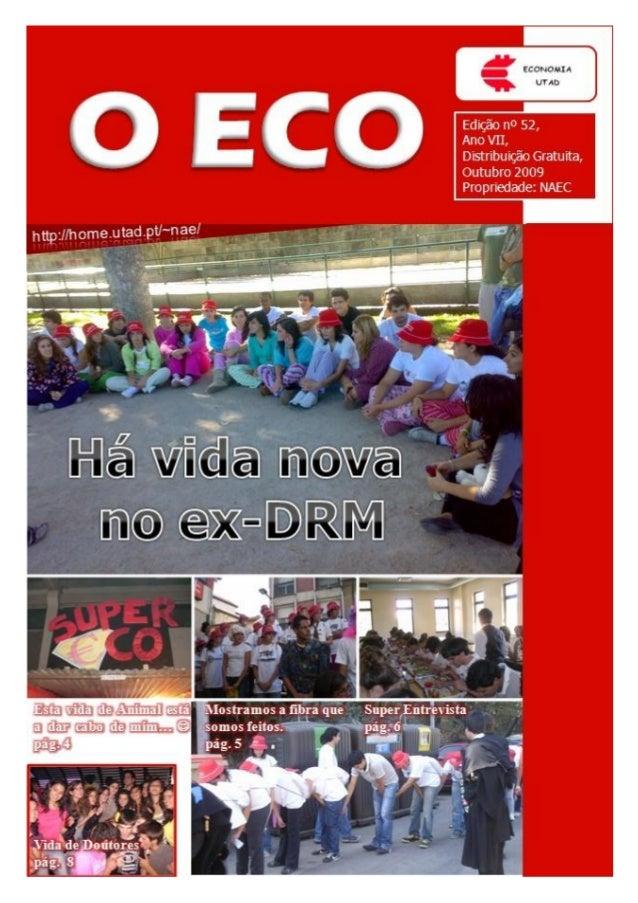 Edição nº 52                                                                                           O ECOEditorial por ...