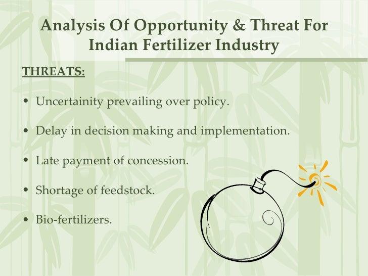 Fertilizer company SWOT Analysis