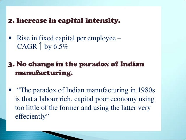 pattern of industrialization in india Development, land use pattern and environmental degradation in india industrialization has provided for better economies the consequences of population growth for india span three areas changes in land use.
