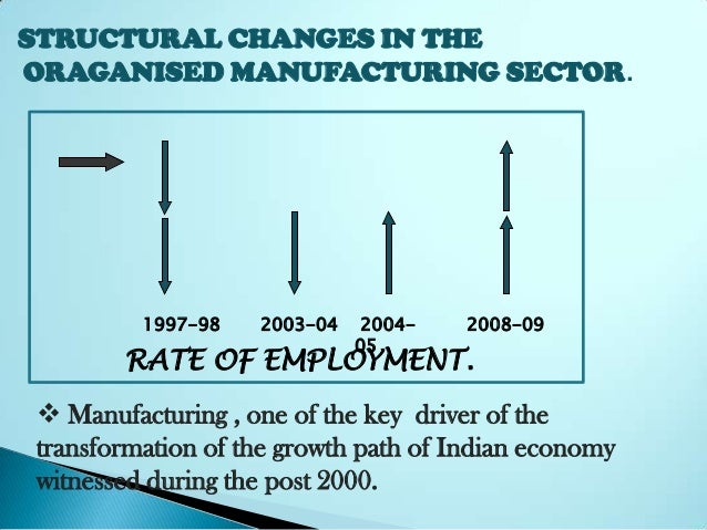 pattern of industrialization in india In india a k bagchi despite the growth of large-scale industries in india since the 1850s, the country can hardly be said to have experienced industrialisation in the modern period an active process of industrialisation must be marked at least by systematic increases in two ratios: the ratio of industrial output to total national.