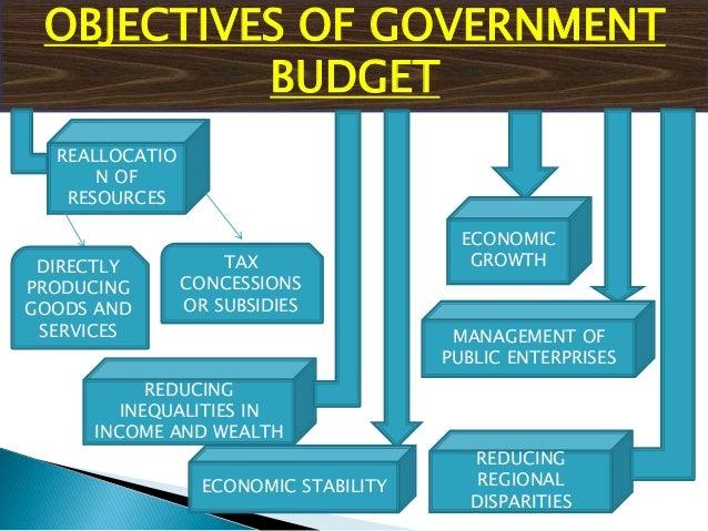 Gov budget and economy