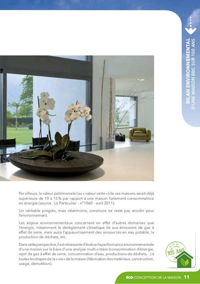 Eco conception de la maison cstb for Www conception de la maison
