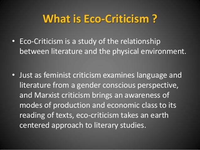 ECOCRITICISM IN LITERATURE PDF DOWNLOAD