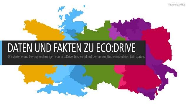DATEN UND FAKTEN ZU ECO:DRIVE (2010, DE)