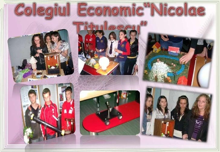 """Colegiul Economic""""NicolaeTitulescu""""<br />"""