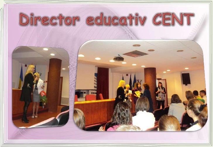 Director educativ CENT<br />