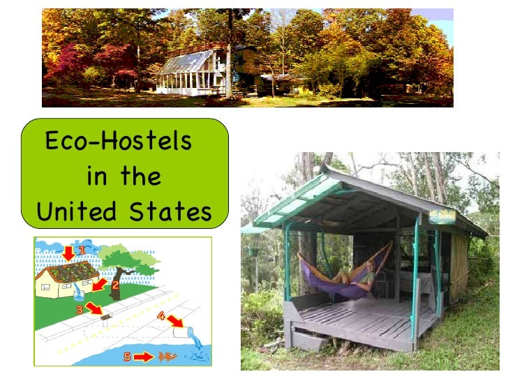 Eco-Hostels  in the  United States