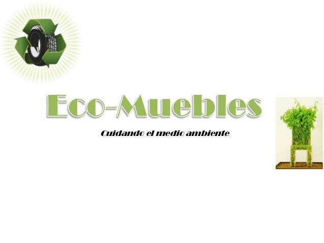 Eco muebles - Empresas de muebles ...