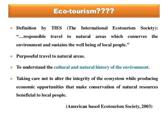 ecotourism kenya impacts environment people and economy This paper looks at how tourism has affected the environment in kenya and what  is being done  kenya institute for public policy research and analysis, 2002 -  business & economics - 56 pages  what people are saying - write a review.