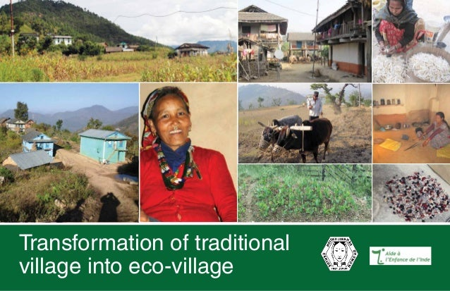 Transformation of traditional village into eco-village