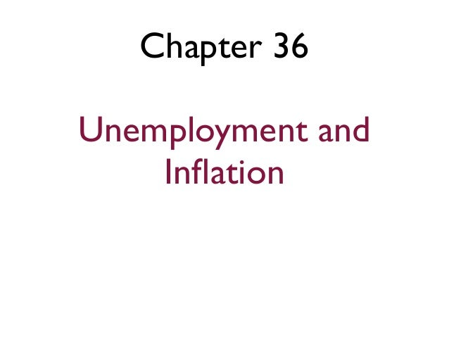 Chapter 36Unemployment andInflation