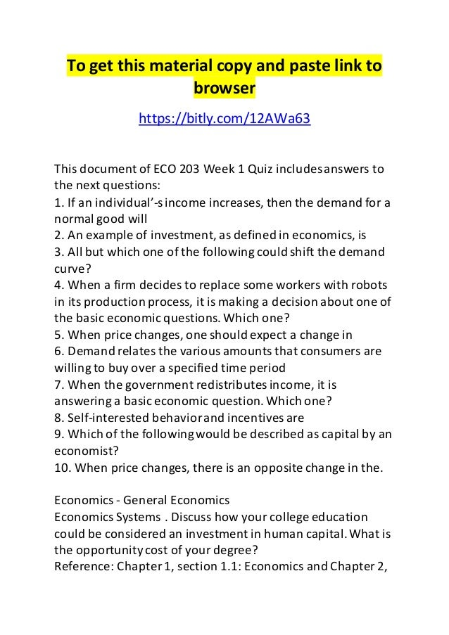 eco 203 This pack of eco 203 week 4 dq 1 federal reserve bank policy during the 2007-2008 recession comprises: from 2007-2010, the federal reserve bank (the fed) used many practices that had never before been seen from the central bank of the united states.
