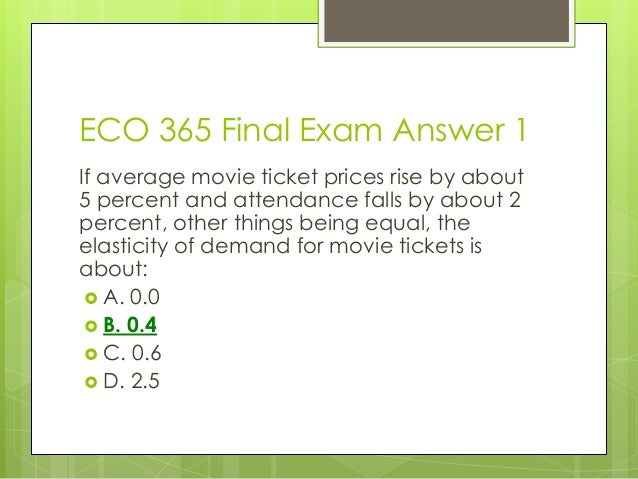 [Exam Tutorial] ECO206 Final Exam Full Study Package