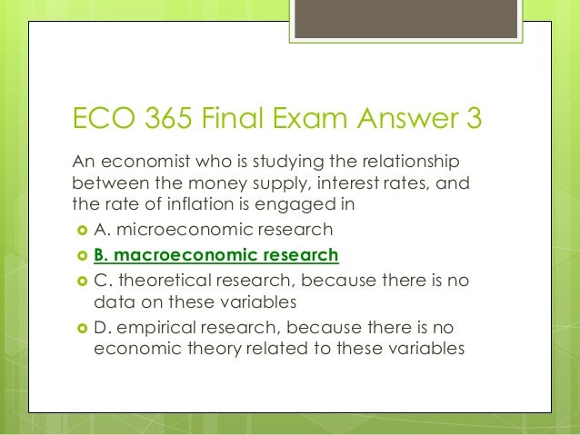 study guide eco 365 Welcome to the best tutorials ever uopetutorscom provide simple and easy to follow homework help, the eco 561 final exam latest university of phoenix final exam study guide hurry find the best study material ever once you visit us you won't look back for sure - a free powerpoint ppt.