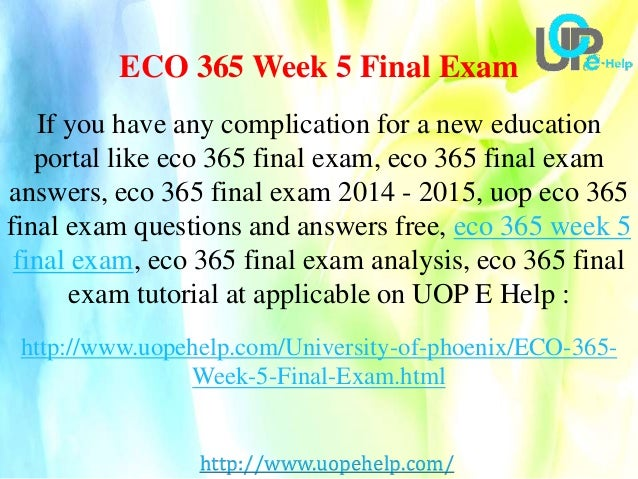 eco 561 week 6 individual final View homework help - eco 561 week 6, individual assignment, final proposal presentation from eco 561 at university of phoenix 2012 supply chain management forecast.